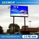 Wide Viewing Angle P5mm Outdoor Fixed LED Display for Advertizing