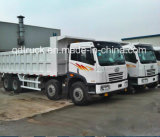 8X4 40 toneladas de caminhão de descarga resistente do caminhão FAW