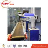 Qualitäts-Fliegen-Faser-Laser-Markierungs-Maschine für Drucken-Kabel und Drähte