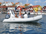 Liya 19FT Marquise Dobrável costela bote de fibra de vidro