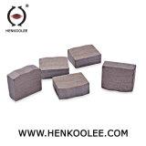 Alta eficiencia al por mayor de piedra de granito en forma de U Herramientas de corte para el segmento