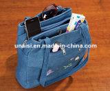 Segeltuch-Jeans Demin Einkaufen-Schulter-Handtaschentote-Beutel