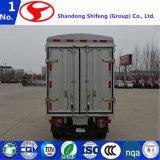 판매에 화물 상자를 가진 가벼운 화물 트럭 트레일러 또는 작은 트럭 또는 강철 변죽 또는 말뚝 트럭 트레일러 또는 말뚝 트럭 또는 쌓아올리는 기계 또는 특별한 차량 또는 특별한 트럭 또는 예비 품목 또는 여분