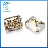 قطع جزء متوهّج جميلة باهر جدّا [8إكس10مّ] [3.5كتس] [مويسّنيت] حجر كريم