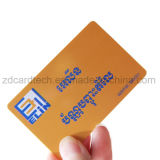 Cr80 13.56PVC imprimable 14443Un MHz Mifare 1K Smart carte RFID