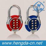 Yh9991 Porta Digital Sem Chave de zinco combinação redonda de cadeado cadeado de senha