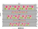 Película de la transferencia de calor de la serie de flores