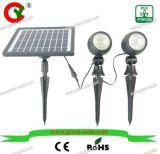 2つのランプのEgg-Shapedの太陽点ライトのセット