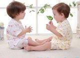 2017명의 도매 형식 아이 의복 간결 소매 한 벌 아기는 아이들 내복을 입는다