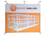 Exhibition (DY-F-2)를 위한 10 FT Round Tube Fabric Backdrop Banner Display Stand