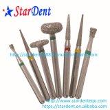 Nuovo diamante Burs (10PCS/packing) di imballaggio di plastica del prodotto dentale