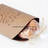 Emballage écologique recyclé Papier Kraft oreiller forme boîte dans une meilleure apparence à l'emballage pour produits(Jp-Paper Box126