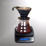 Échelle pliable de cuisine de rupteur d'allumage de fonction d'échelle électronique neuve multifonctionnelle de café