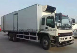 Le chariot de réfrigérateur d'Isuzu 6X4 15 à 18 tonnes a frigorifié le camion de camion