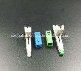 パッチ・コードのための光ファイバ速いコネクターはネットワークおよび無線SC/PC、Sc/APCで適用した
