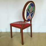 Самомоднейшее алюминиевое деревянное зерно обедая стул для гостиницы трактира (JY-R80)