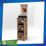 Nouveau style de supermarché MDF de présentoir, commerce de détail-de-chaussée présentoir, présentoir de sol en bois
