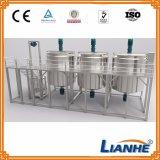 シャンプーかローションまたは装置を混合し、作る液体石鹸