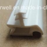 Personalizar el plástico de PVC extruido Tira de sellado de la puerta de madera