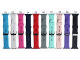 Nieuwe Band van het Horloge van de Manchet van het Silicone In het groot 42mm voor Appel Iwatch