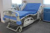 Cama de hospital eléctrica de la mejor calidad del fabricante de China con 5 funciones