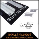 Walkover IP65 imprägniern LED-Aluminiumbodenbelag-Profil für Fußboden