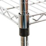 3つの層のクロム商業金属の実用的なトロリー(CJ-A1195)