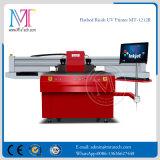 Correderas de doble cabezal de impresión Ricoh Gen5 de la máquina impresora de inyección de tinta UV de Metal Mt-1212R