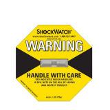 Shock Sensor de impacto reloj adhesivo de logística de la etiqueta de seguridad