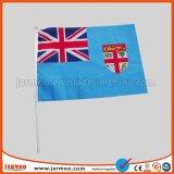 Цифровая печать печать логотипа Custom стороны развевается флаг