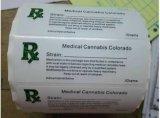Étiquettes de Rx et étiquette faite sur commande d'ordonnance de bonne qualité de sacs