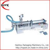 Pneumatique horizontal simple machine de remplissage de liquide de remplissage de la tête 100ml (G1WY)