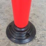 Alberino flessibile del PE di Jiachen con la base di gomma e di plastica per sicurezza stradale