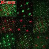 Éclairage de scène Laser étanche de la lumière laser utilisé pour le jardin