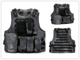I militari molli tattici della maglia dell'attrezzo del Tan Airsoft combattono la maglia dell'esercito
