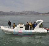 Cabine Liya 27pés Cruiser Barcos barco patrulha militar para venda