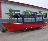 Liya 4.2-7.6m populärer Fiberglas-Rumpf-Fischerboot für Verkauf