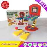 La diversión del dedo embroma el juguete inteligente del baloncesto