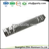 Espulsione di alluminio anodizzata fornitore della Cina per il dissipatore di calore del LED