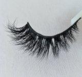 GroßhandelsWimper-weiches natürliches Haar-handgemachtes Nerz-Haar-falsche Wimpern