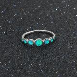 925 Anel de prata jóias para Mulheres Fashion Opal Anel de dedo