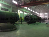 3.5*6.5m o reattore di vetro personalizzato dell'autoclave per laminazione di vetro in Cina con il PLC Programmar