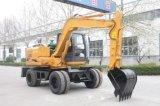 Yrx100 potência forte, máquina escavadora do sistema hidráulico
