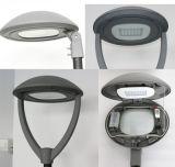 linterna de la tapa del poste de la lámpara LED del jardín de 120lm/W 70W LED con 5 años de garantía