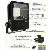 100With150With200W Epistarチップ黒屋外ランプの穂軸LEDの洪水ライト