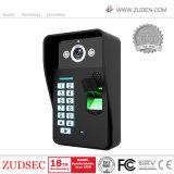 7inch Screen-Landhaus WiFi videoDoorphone für inländisches Wertpapier-Video-Türklingel