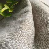 Tela tinta pura del filato di tela per l'indumento, camicia, pantaloni, pantaloni, panno casuale