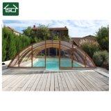 Solar de baixo custo Cobertura piscina exterior de alumínio do tejadilho