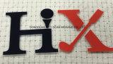 Impressão da transferência térmica do silicone para usar o logotipo do tipo