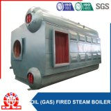 Caldaia a vapore industriale del gas del tubo dell'acqua con la fornace ondulata